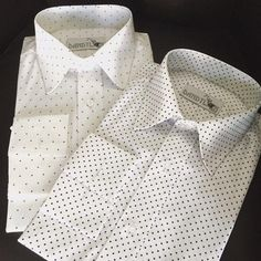Dandylion style spotted and hearts shirts.Very fine Egyptian cotton .Ready to wear or made to measure. www.dandylionstyle.co.uk