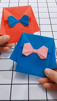 Paper Crafts, Diy Crafts, Diy Origami, Fun Crafts For Kids, Gift Packaging, Fun Games, Quilling, Gifts, Creativity
