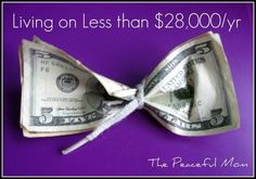 Budgeting tips for living on less! Great pointers for budget shoppers of any income. #budget #savings