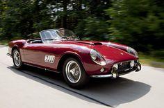 1960 Ferrari 250 GT LWB California Spider.