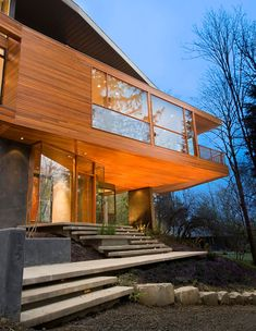 Hoke House by Skylab Architecture (PS: I hated all of the movies, but this house...)