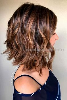Balayage, Curly Lob Hairstyles – Shoulder Length Hair Cuts for Women and Girls… Balayage, Curly Lob Hairstyles – Shoulder Length Hair Cuts for Women and Girls http://www.nicehaircuts.info/2017/06/11/balayage-curly-lob-hairstyles-shoulder-length-hair-cuts-for-women-and-girls-3/