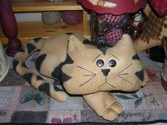 Выкройки котов. Как сшить текстильную игрушку кота