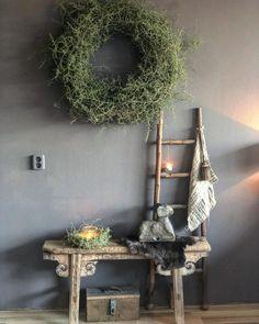 Avond ! De kaarsje s kunnen weer aan 🕯😍. Fijne avond ❤️ 50 Shades Of Grey, Wabi Sabi, Xmas, Christmas, Home Fashion, Ladder Decor, Sweet Home, Foyer, Living Room