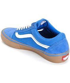 vans old skool pro skate shoes (mens)