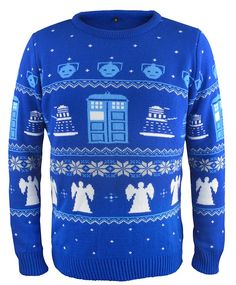 """Doctor Who"" Doctor Who Christmas Jumper (BBC Shop Exclusive) at BBC Shop"