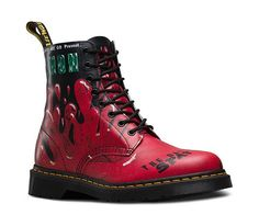 Dr. Martens - PASCAL BLACK+RED 21092102