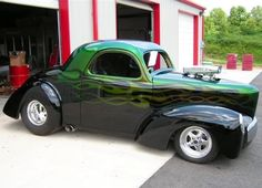 1941 Willys Coupe.... Green