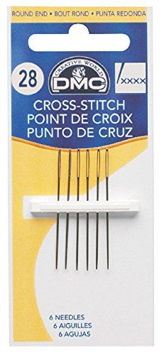 DMC Size 26 Cross Stitch Needles DMC http://www.amazon.com/dp/B0016YDNUS/ref=cm_sw_r_pi_dp_GSzcwb067D3PP