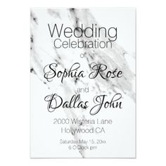 White and. Black Marble Card - romantic wedding love couple marriage wedding preparations