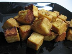 eat me, delicious: Honey-Mustard Marinated Tofu Vegetarian Main Dishes, Vegetarian Cooking, Vegetarian Recipes, Tofu Recipes, Real Food Recipes, Cooking Recipes, Vegan Shakes, Marinated Tofu, Honey Mustard