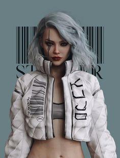 Arte Cyberpunk, Moda Cyberpunk, Cyberpunk Girl, Cyberpunk Aesthetic, Cyberpunk Fashion, Cyberpunk 2077, Cyberpunk Games, Arte Digital Fantasy, Digital Art Girl