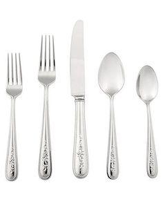 WUJO 24-Piece Cutlery Set Silverware Flatware Stainless Steel Tableware Set Service for 6 People,Include Knife//Fork//Spoon//Tea Spoon Dishwasher Safe Mirror Polished