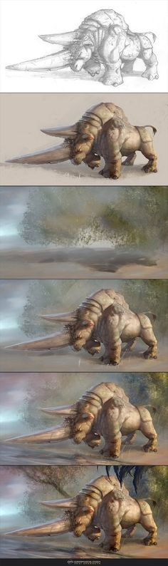 Materospanodon - Steps and BAA by Kai-S on deviantART