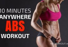A 10 Minutes Anywhere Abs Workout