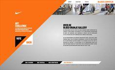 Nike - Bloed Oranje on the Behance Network Web Design, Nike Design, App Ui Design, User Interface Design, Grid Design, Graphic Design, Motivation Inspiration, Fitness Inspiration, Design Inspiration