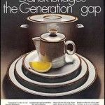 """1971 Dansk Ad - from A Pop of Pretty's (apopofpretty.com) """"31 Days"""" Series on Vintage Home Decor Advertising"""
