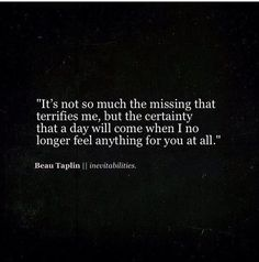 beau taplin quotes / inevitabilities