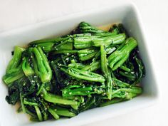 Chinese Greens 101: Stir-Fried Choy Sum With Minced Garlic | Serious Eats