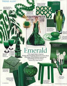@Jessica Teaff Emerald is the color for 2013, I think it's a good idea to start buying wedding things now. ;)