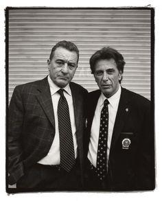 Robert Dinero & Al Pacino by Kevin Cummings and Estevan Oriol