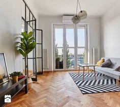 Światło i przestrzeń na 31m2 - Salon, styl nowoczesny - zdjęcie od Ola Paszko