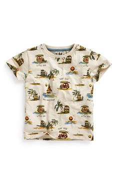 Buy Surf Camper Van All-Over-Print T-Shirt (3mths-6yrs) from the Next UK online shop