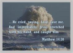 Matthew 14:30