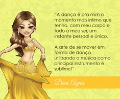 Bem vinda Dani Agnis! #centraldancadoventre #dancadoventre #bellydance #mascote