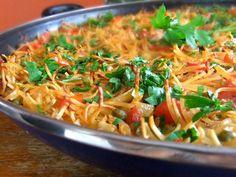 Nuevamente te ofrecemos una receta que es una delicia y además es de la preferencia de personas vegetarianas para su almuerzo y para quienes no lo son son un maravilloso