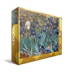 Irises by Vincent Van Gogh 1000-Piece Puzzle