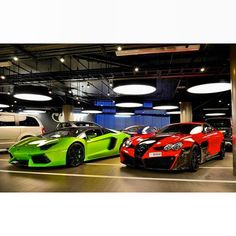 Which would you take? The Lamborghini Aventador or the Mercedes Benz SLR McLaren ?