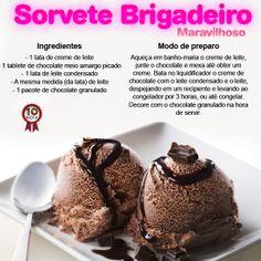 sorvete brigadeiro