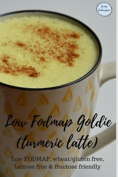 Low Fodmap Goldie (Turmeric Latte)