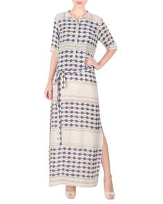 Long Ankle Length Double Georgette Tunic
