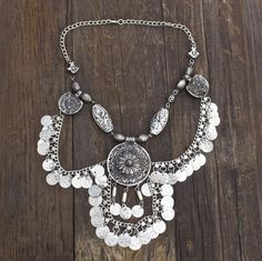Moon's Vengeance Indian Necklace - Child of Wild - 3