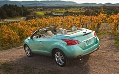 Nissan Crosscabriolet @Monica Monic saw one of these yesterday and immediately thought of you. Looks like a beach vehicle