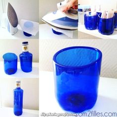 Exceptional DIY: plastic bottles reworked into pots. Exceptional DIY: plastic bottles reworked into pots. Reuse Plastic Bottles, Plastic Bottle Crafts, Recycled Bottles, Plastic Pots, Plastic Containers, Glass Bottles, Upcycled Crafts, Diy Home Crafts, Recycler Diy