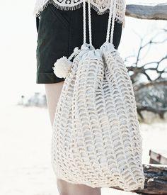 Square Crochet Bag