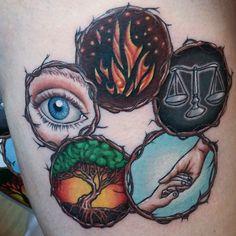 Divergent Tattoo