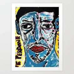 GOTELE Art Print by ALOU - $12.48
