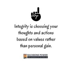 # values #personalgain #integrity Integrity, Audio Books, Author, Science, Thoughts, Feelings, Sayings, Quotes, Life