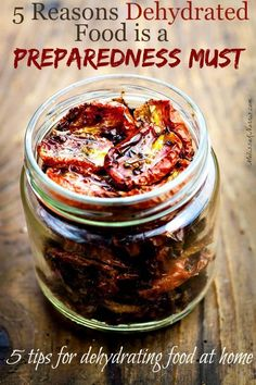 5 Reasons Dehydrated Food is a Preparedness Must
