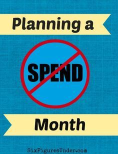 In the past we've done a no-spend month without any preparation (and it went great).  This time we're preparing a little, but keeping it in the previous month's budget.