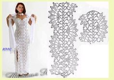 crochet dress diagram | Cristina My Crochet