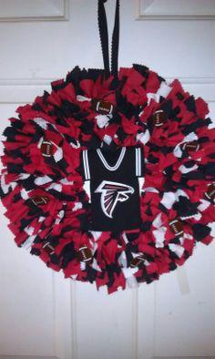 Falcon Rag Wreath
