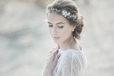 Wedding Headband  Wedding Hair Accessories by LavenderByJurgita