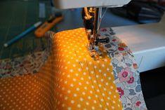 Den lille havtaske: Toilettaske med lomme DIY Couture, Sewing, Henna, Make Up, Tutorials, Accessories, Fashion, Scrappy Quilts, Moda