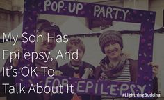 In this post, I learn that it's ok and important to talk about #epilepsy.