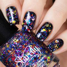 Swatch of Starrily Galaxy Nail Polish